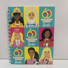 Barbie 60th Anniversary Inspiring Girls Since 1959 Spiral Journal Notebook