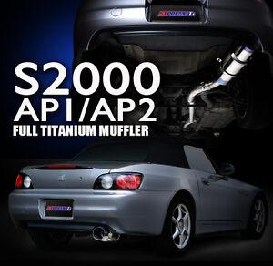 TOMEI EXPREME TITANIUM MUFFLER for HONDA S2000 AP1/AP2 '99-'09 F22C
