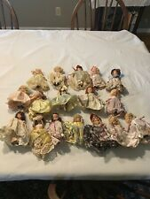 vintage nancy ann storybook dolls Lot Of 17