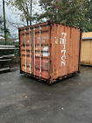 Shipping or Storage Container 8' 9' Long Used Fair Condition