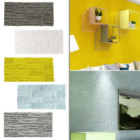 3D Brick PE Foam Embossed Wallpaper Panels Stone Decal Wall Stickers Home Decor