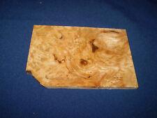 Esche Maser Schmuckholz für Holzschmuck Edelholz  110 x 80 x 5 mm   Nr.204