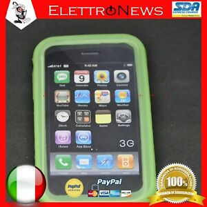 Custodia Cover TPU Verde Iphone 3G Apple Antiurto