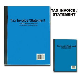 Tax Invoice Statement Books Carbonless  Invoice Book Copy 50/100 Pages A4 A5