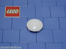 LEGO 2654 2x2 piastra rotonda con fondo arrotondato Bianco x 5 ** Nuovissimo LEGO **
