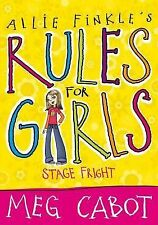 Allie Finks's Rules for Girls: Stage Fright by Meg Cabot (Paperback) New Book