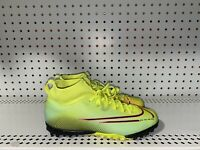 Nike Mercurial Superfly 7 Academy TF Boys Youth Indoor Soccer Shoes Size 4.5Y