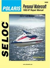 SELOC 9400 REPAIR MANUAL For POLARIS PWC ENGINE  1992-97 650-1050 SERIES
