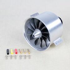 5.4Kg Thrust Violent 90mm 12 Blades Metal Ducted Fan Inner rotor 6/8S Jet engine