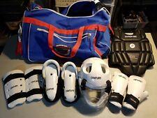 CENTURY Macho Martial Arts Sparring Gear Head Pads Chest Gloves Feet Bag Lot Mix