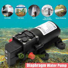 12V 130PSI Water Pump Diaphragm Self Priming Sprayer Camper Marine Boat Shower