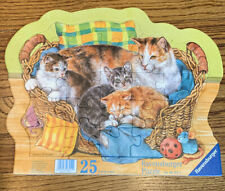 Ravensburger 25 Piece Frame Puzzle Cats in a Basket