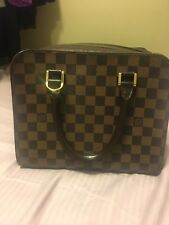 Louis Vuitton Damier Ebene Brera Limited Edition Handbag
