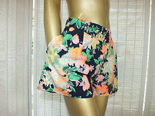 MOSSMAN SEXY FLORAL MINI DRESS SKIRT SHORTS 10 S