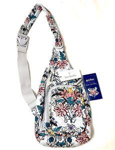 NEW Vera Bradley Limited Harry Potter HERBOLOGY Mini Sling Backpack Travel Bag
