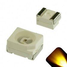 5 x LED PLCC2 1210 3528 Yellow Gold SMD LEDs Super Ultra Bright Gauge PLCC-2