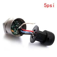 0-5psi Linear 0.5-4.5V Gas Fuel Air Liquid Pressure Sensor Transducer Sender
