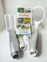 Wii Play + Wii Sports Game And Accessory Bundle games Complete OEM