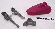 1985 Mattel MOTU He-Man Masters Of The Universe LAND SHARK Parts Lot (4 pieces)