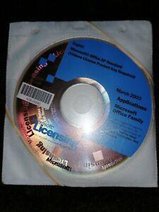Office XP Win32 English Disk Kit MVL CD