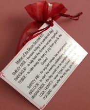 Mother Of The Groom Survival Kit - Novelty Favour Gift Keepsake WeddingThank You