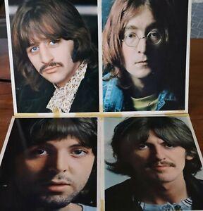 The Beatles (White Album) 2x LP's, Australian Pressing 1971 (Stereo) 4 Photos