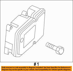 FORD OEM Anti-lock Brakes-Control Module DT4Z2C219B