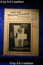 Auto und Motorrad Zeitschrift Nr. 1/50  5.1.1950 Der Auto Markt