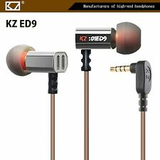 High-End Headset Kopfhörer KZ-ED9 Professional In-Ear Ohrhörer + PU-Hardcase