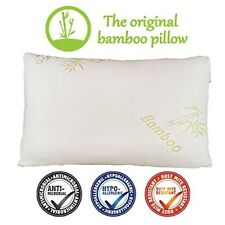 Cuscino in Bamboo e Memory Foam guanciale ergonomico anallergico antibatterico