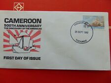 Cameroon 500th Anniversary Discovery of the Americas 25 Sept 1962 Fdc