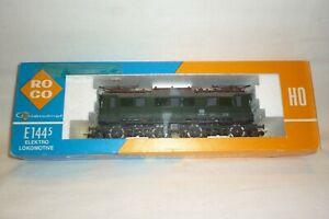 Roco - Échelle H0 - 4130 Locomotive Électrique Br 144 DB 144 509-7 - Ovp