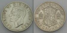 Collectable 1943 King George VI Half-Crown (Silver 0.500)
