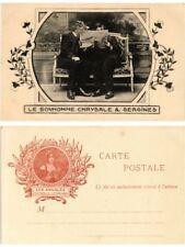 CPA LE BONHOMME CHRYSALE et SERGINES . WRITER (500261)