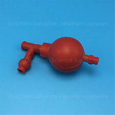 Laboratory Rubber Suction Ball With Three Directions,New Chemistry Labware