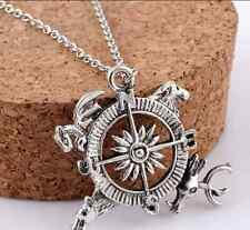 Men's Fashion Game Of Thrones A Song of Ice and Fire Compass Pendant Necklace