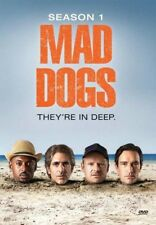 MAD DOGS 1 2015-2016: Amazon Prime Dark-Comedy TV Season Series NEW DVD Reg Free