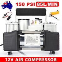 12V Air Compressor Tyre Deflator Inflator 4x4 Car Truck Portable 150PSI 85L/MIN