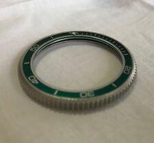 Rare Green Bezel Insert for Seiko Dive Watch, Kermit, Japan, skx007, 7s26, 6309