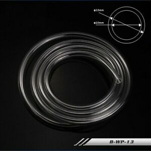 """PVC Soft Tubing 10mm/13mm 3/8"""" ID 1/2"""" OD 1000mm for PC Water Cooling 2021 NEW"""