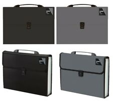 More details for a4 expanding file 13 or 20 pocket document organiser paper storage wallet folder