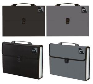 A4 Expanding File 13 Or 20 Pocket Document Organiser Paper Storage Wallet Folder