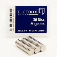 Small Round Magnets | Perfect for Fridge, Kitchen, Whiteboard, Office, Crafts |