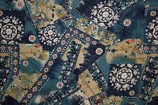 Multicolor Abstract Floral Print #13 100% Cotton Lawn Apparel Sewing Fabric BTY