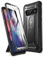 YOUMAKER Case for Galaxy S10, Built-in Screen Protector work with Fingerprint ID