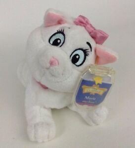 Mattel Star Bean Disney Classics Aristocats Marie Cat Plush Stuffed Toy New Tags