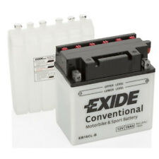Batterie moto Exide YB16CL-B YB16CL-B 12V 19AH 240A 175X100X175MM ACIDE COMPRIS