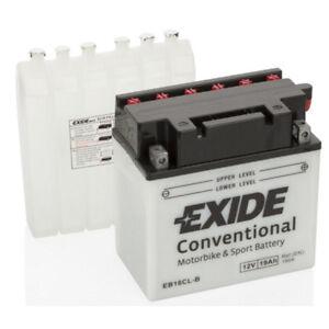Batterie moto Exide YB16CL-B YB16CL-B 12V 19AH 190A 175X100X175MM ACIDE COMPRIS