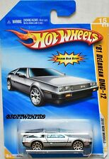 HOT WHEELS 2010 NEW MODEL '81 DELOREAN DMC-12 #15/44