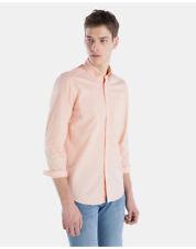 Camicie casual e maglie da uomo rosa taglia 38